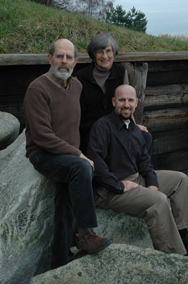 Portrait of Mike, Gerry and Josh Feinstein